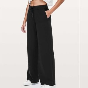 On the fly Wide leg Woven Pant